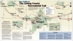 Bike Trails In Ohio Map.Trailhead Bike Path Village Of Johnstown Ohio